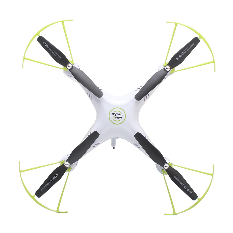 Vococal - SYMA X5HW 2,4 G G G WiFi FPV RC Drone Quadcopter con Luz LED y 0.3MP Caacute;mara HD - 4 Canales de Eje 6 Girocompaacute;s - Transmisioacute;n en Tiempo Real Juguetes de Modelo de Avioacute;n Helicoacute;ptero b356e6