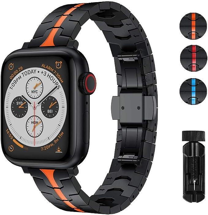 RABUZI - Correa de Repuesto para Reloj Apple Watch de 40 mm/38 mm ...