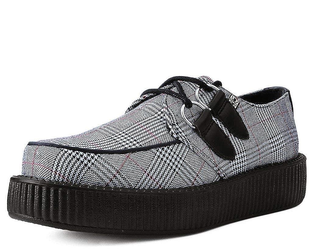 Femmes Hommes kShoes u T Ba Plaid Gris 3l1FcTKJ
