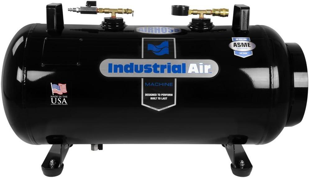 Industrial Air IT20ASME 20 Gallon ASME Certified Vertical//Horizontal Air Receiver Tank