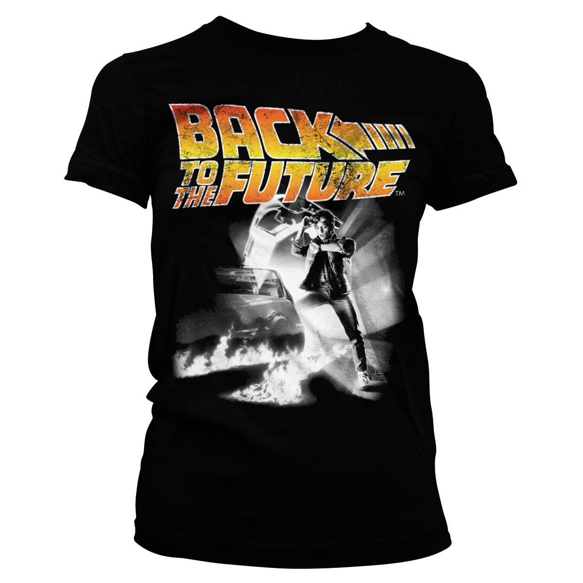Back To The Future Officiellement sous Licence Poster Femme T-Shirt
