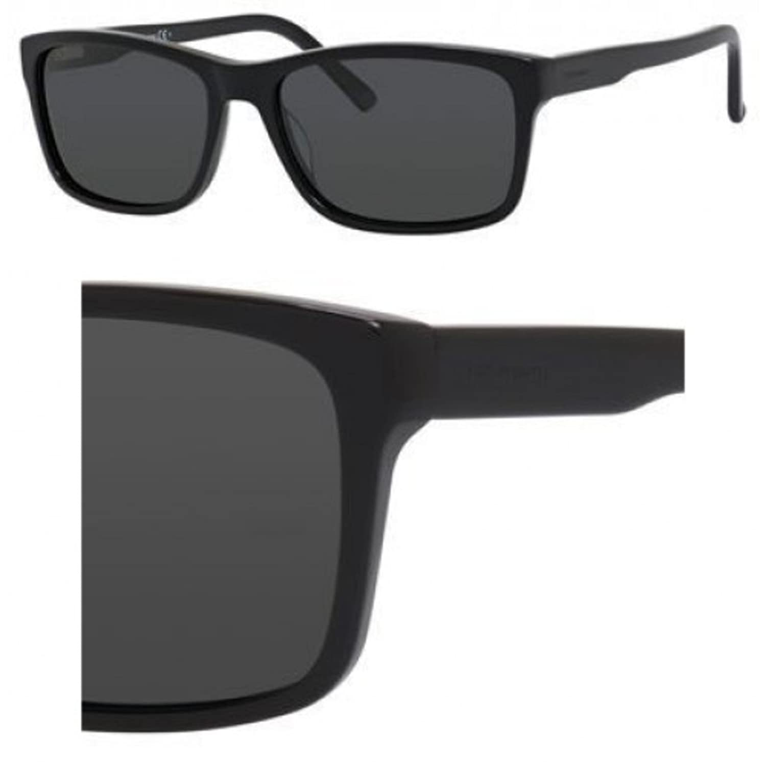 f2539597f11 Sunglasses Chesterfield 3  S 0807 Bkack   RA gray polarized lens   Amazon.co.uk  Clothing