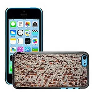 Print Motif Coque de protection Case Cover // M00154829 Textura de la pared de ladrillo lago // Apple iPhone 5C