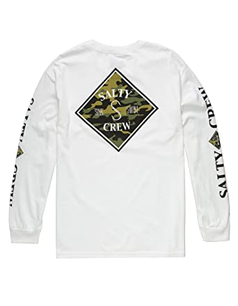 b789158b Image Unavailable. Image not available for. Color: Salty Crew Tippet Camo T- Shirt ...