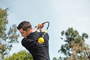 SKLZ Gold Flex - Golf Training Aid for Strength and Tempo Training - best golf training aids
