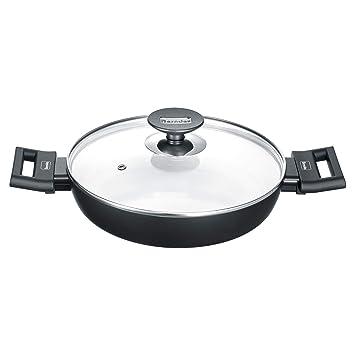 Berndes 013365 - Sartén de aluminio para inducción (24 cm), color negro y blanco: Amazon.es: Hogar