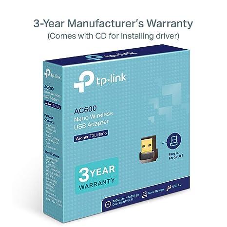 TP-Link Archer T2U Nano AC600 Adaptador USB inalámbrico ...