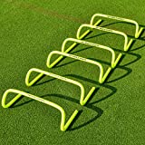 Net World Sports Forza 6'/9'/12' Speed Hurdles - New & Improved Design for Agility Training [Set of 6]