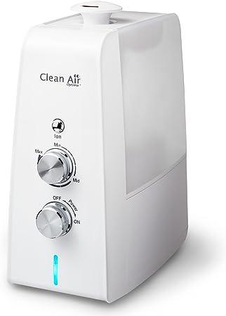 Opinión sobre Humidificador de aire con ionizador y aromaterapia CLEAN AIR OPTIMA CA-602