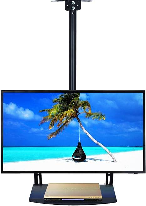 Ezcheer - Soporte de Pared para televisor de Techo (se Adapta a Pantallas LCD de 22 a 65 Pulgadas, Pantalla Plana LED, Altura Ajustable con Soporte de TV Incluido): Amazon.es: Electrónica
