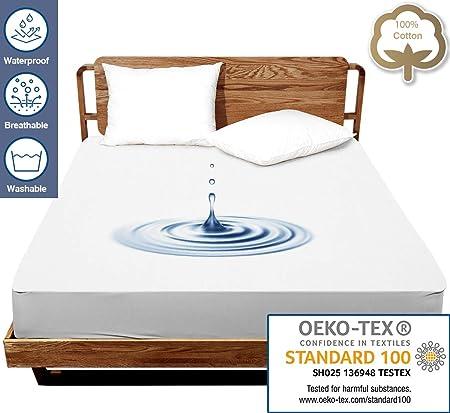 Bed Bug Mattress Protector Queen Size Cover Guard Memory Foam Waterproof Sheets
