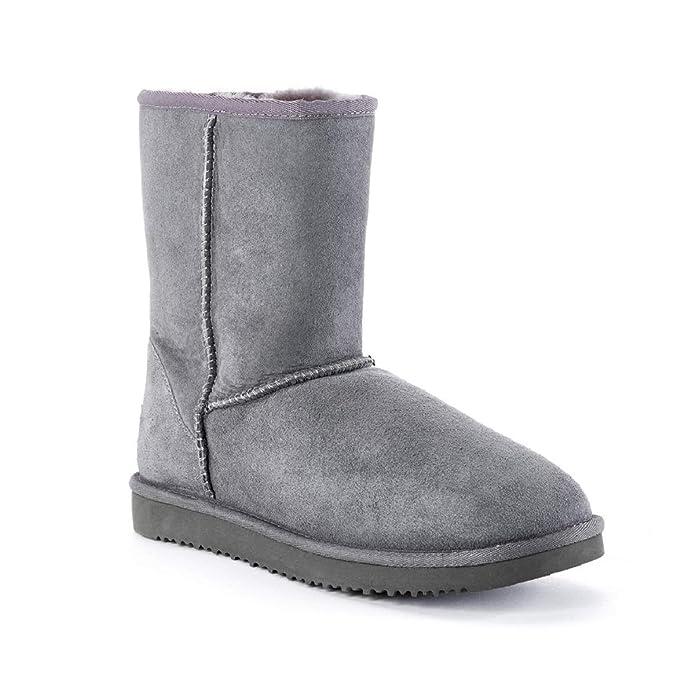 COZY STEPS - Botas Australianas Media Caña - 100% Piel de Oveja Merino: Amazon.es: Zapatos y complementos
