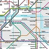 London Tube Rail Map