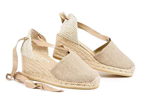 Viscata Barcelona EscalaLinen - Alpargatas Mujer: Amazon.es: Zapatos y complementos