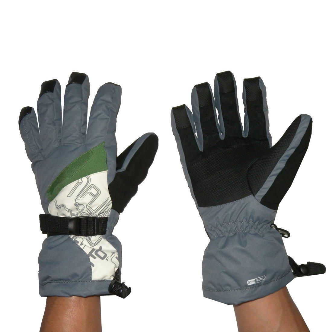 Herren Professionelle Warm & winddicht Insulated Winter Ski-Handschuhe mit Innenfutter