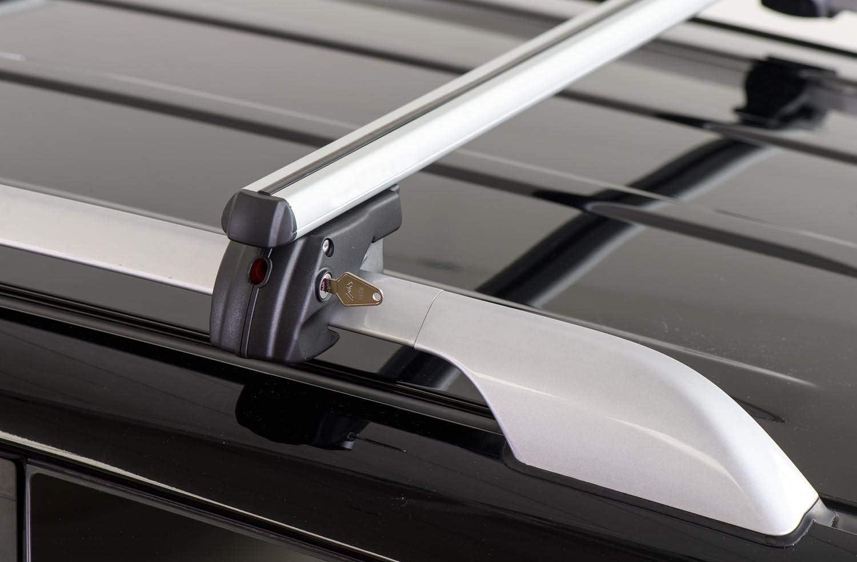 Barre PORTATUTTO Portapacchi Sherman XL per Volvo XC90 dal 2006 al 2014 con Railing CORRIMANO Tradizionali Aperti