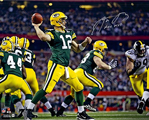 Aaron Rodgers Green Bay Packers Autographed 16