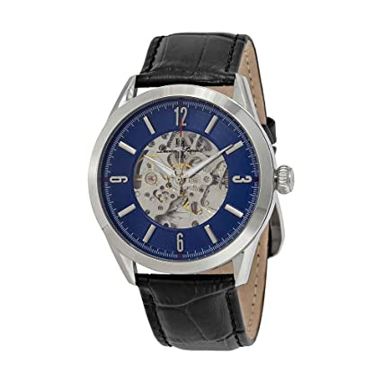 Lucien Piccard Loft Automatic Blue Dial Mens Watch LP-10660A-03-W Men at amazon