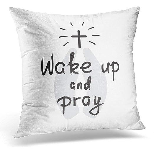Funda de almohada decorativa con cita motivacional para ...