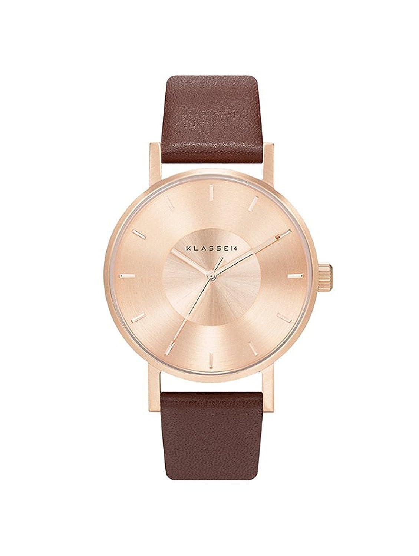 [クラス14]KLASSE14 腕時計 ウォッチ VOLARE 36mm ブラウン×ローズゴールド レディース [並行輸入品] B0711SC6R5