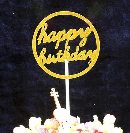 ShireyStore Decoraciones para el hogar Banners de Torta de ...