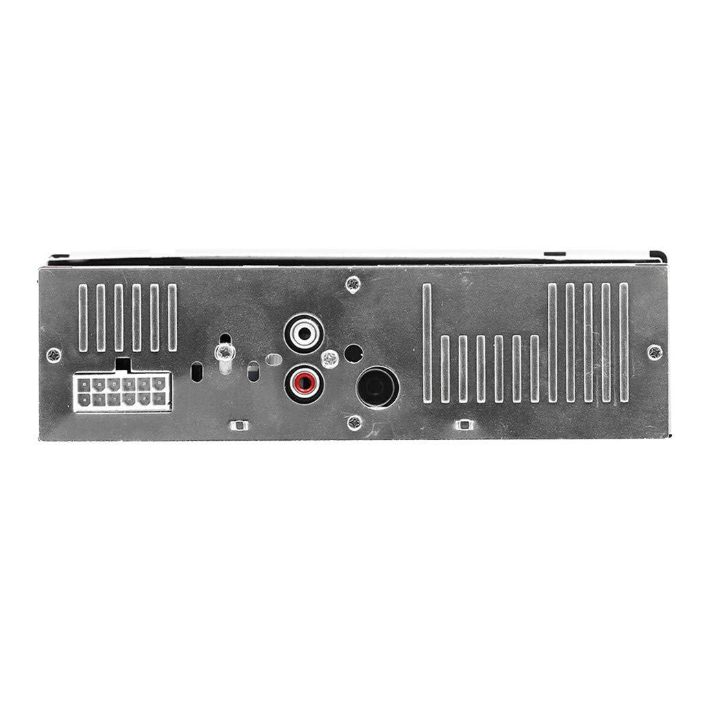 JSxhisxnuid Autoradio Bluetooth FM Radio St/ér/éo 45W x 4 Support USB//SD//TF//AUX T/él/écommande Fonction MP3 // FM//AM//SD//AUX Lecteur MP3 Poste Main Libre Voiture