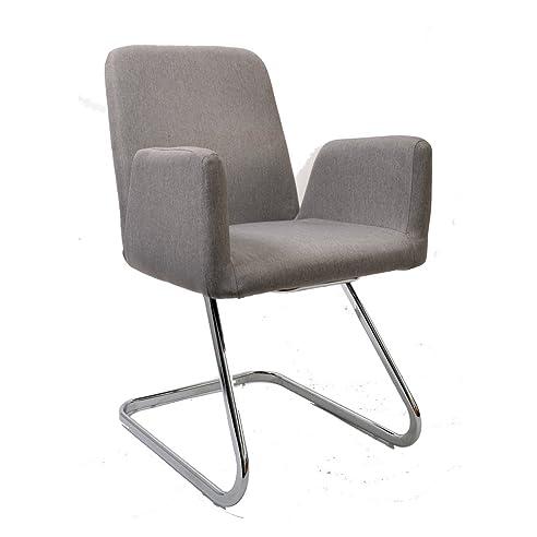Konferenzstuhl  Lounge Stuhl Freischwinger Beatrice mit Armlehnen - Küchenstuhl ...
