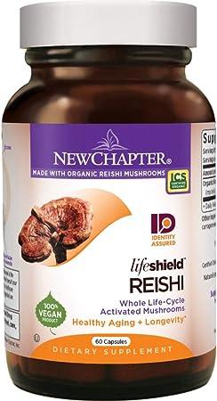 New Chapter Reishi Mushroom Supplements