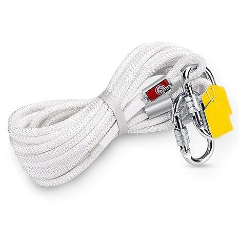 Cuerda de escalada YINUO Cuerda de cáñamo, cuerda de fuego de gran ...