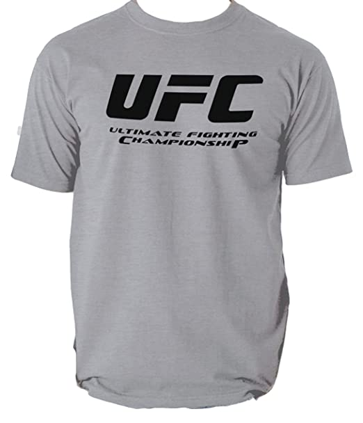 fcfa8e6e23a5 UFC Ultimate Fighting Championship Tshirt Gym Training: Amazon.co.uk ...