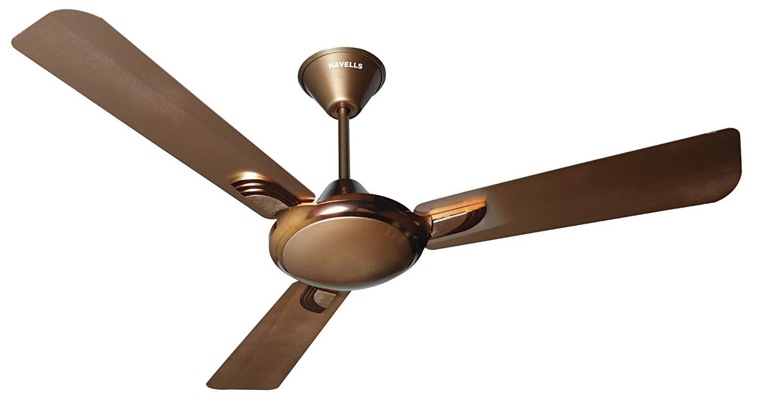 Buy Havells Areole 1200mm Decorative Ceiling Fan (Mist Honey) Online At Low  Prices In India   Amazon.in