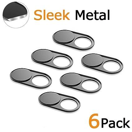 Amazon.com: Cámara web Slide ultra thin metal imán tapa para ...