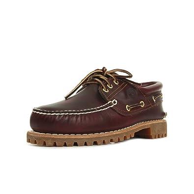 timberland authentics scarpe da barca burgundy