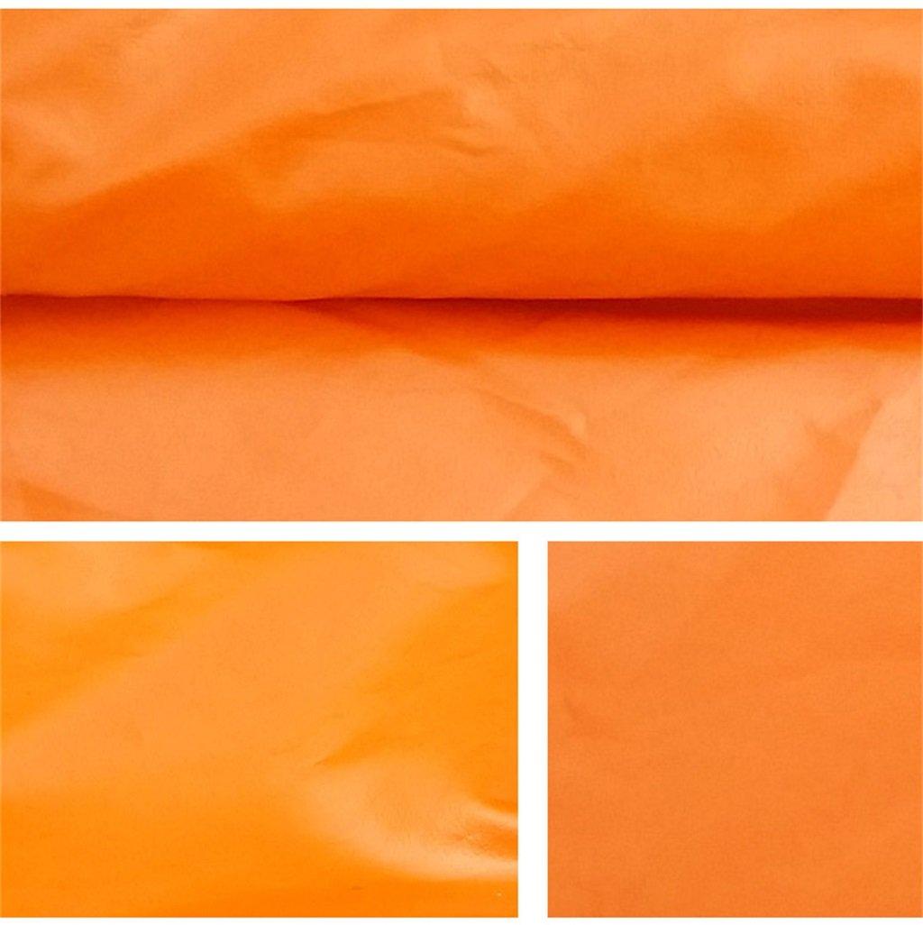 AJZXHE Plane Wulstige Planenlogistik-LKW-Gebäude Hallenstoffisolierung staubdichte windfeste Hallenstoffisolierung Planenlogistik-LKW-Gebäude abnutzungsBesteändige Antikorrosion, Orange -Plane 7f5309
