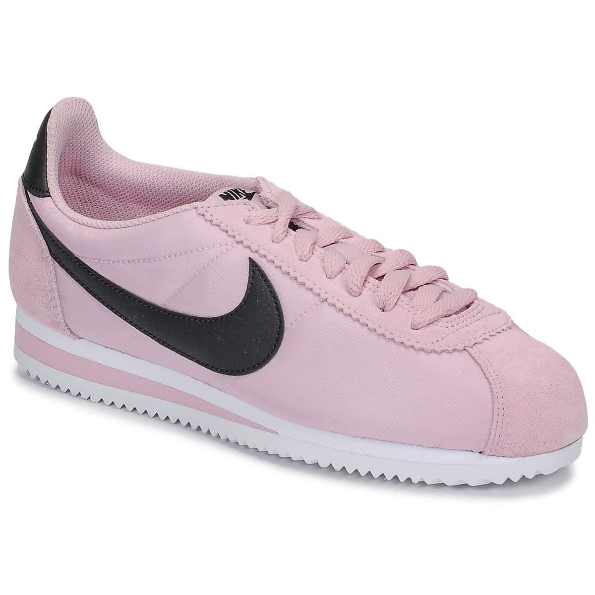 MultiCouleure (Plum Chalk noir blanc 502) Nike WMNS Classic Cortez Nylon, Chaussures d'Athlétisme Femme 36 EU