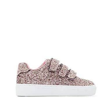 633172bb56048 Amazon.com: La Redoute Collections Big Girls Touch 'N' Close Glitter ...