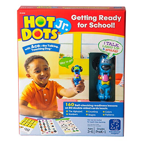 (Educational Insights Hot Dots Jr. Getting Ready for School Set: 160 School Readiness)