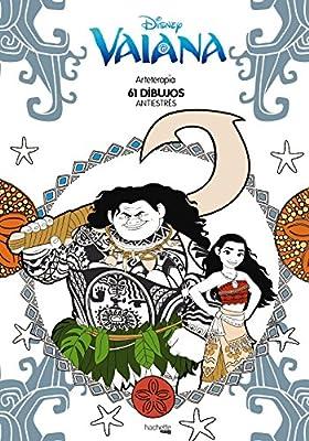 Arteterapia Vaiana Hachette Heroes - Disney - Arteterapia: Amazon ...