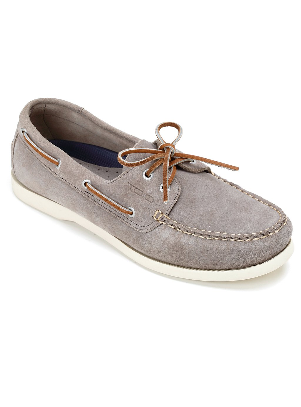 TOIO HARBOUR SHOE MOCASSIN - Handcrafted 100% leather (suede) rubber sole with anti-slip tread…