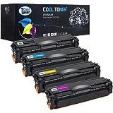 Confezione da 4 pezzi Cool Toner compatible toner CLT-K504S/ELS CLT-M504S/ELS CLT-C504S/ELS CLT-Y504S/ELS Cartucce di Toner per Samsung CLP-415 CLP-415N 415NW CLX-4195 4195N 4195FN 4195FW Xpress SL-C1810W SL-C1860FW,Nero-2500,Ciano /Magenta /Giallo-1800 pagine