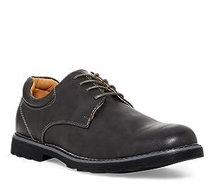 Giraldi Bond Men's Oxford Shoes, Grey/Grey, 10.5