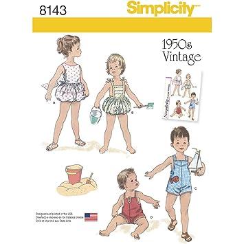 Amazoncom Simplicity Creative Patterns Simplicity Pattern 8143