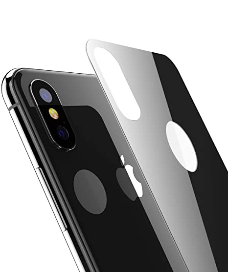 innovative design f2c52 54d0b Amazon.com: Kolpop iPhone Xs Max Back Glass Protector, 2.5D Beveled ...