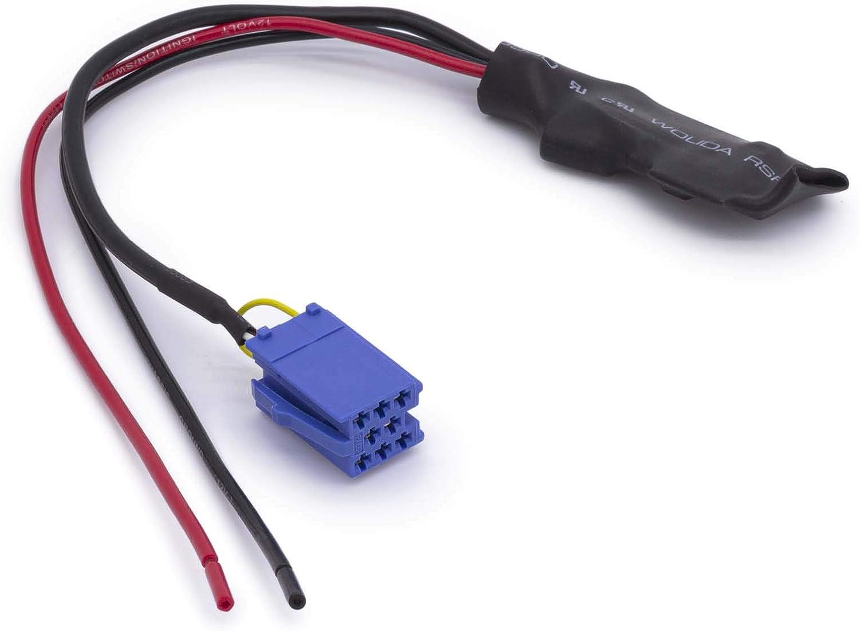 Adapter Universe Kfz Auto Radio Aux Bluetooth Adapter Kabel 12v Mini Iso 8pol Stecker Für Smart 450 Auto