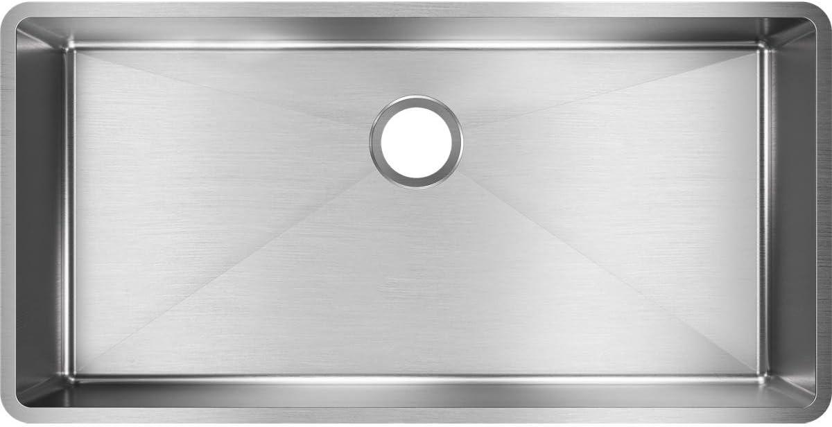 Elkay Crosstown ECTRU35179T Single Bowl Undermount Stainless Steel Sink