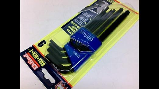 Eklind 15503 1.5 mm Short Series Hex-L Key, Pack of 25
