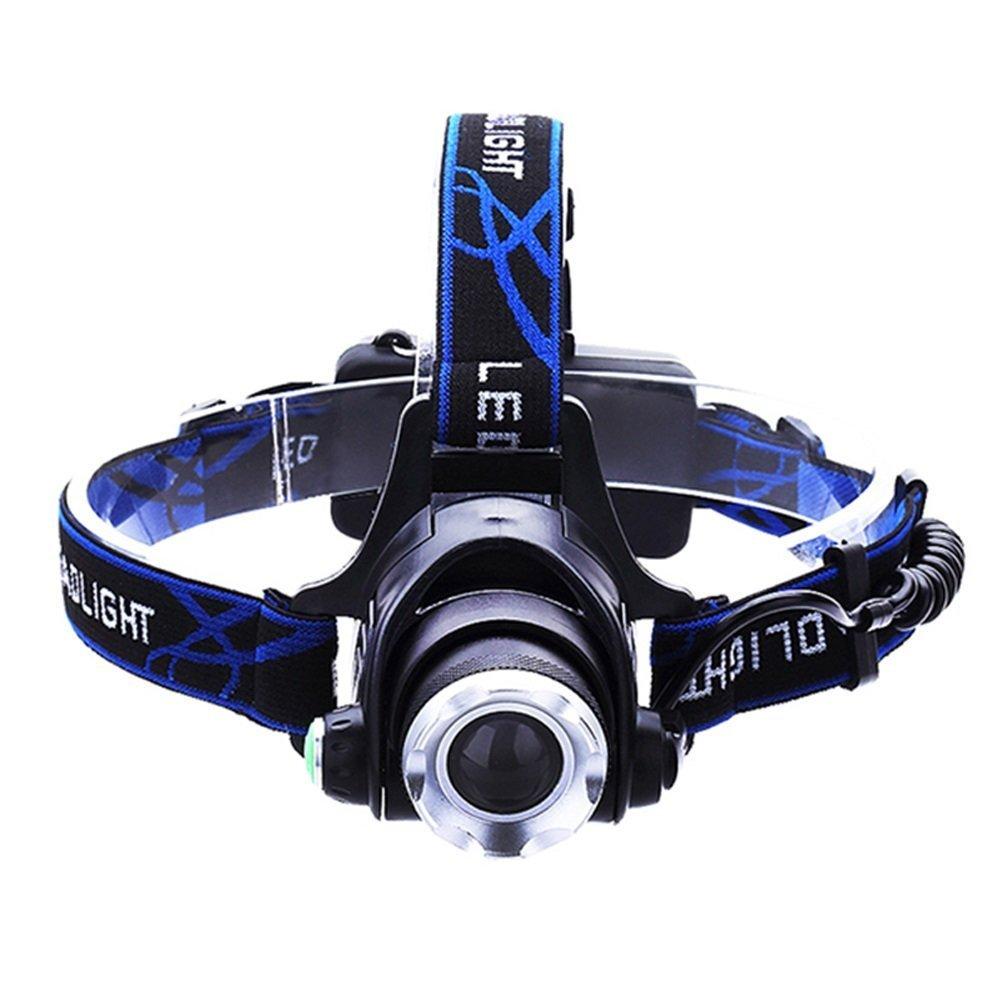 FQL LED-Induktionsscheinwerfer Head-Mounted Flashlight Light Verstellbares USB-Smart-Fast-Charge-Scheinwerferlampe für den Bergmann