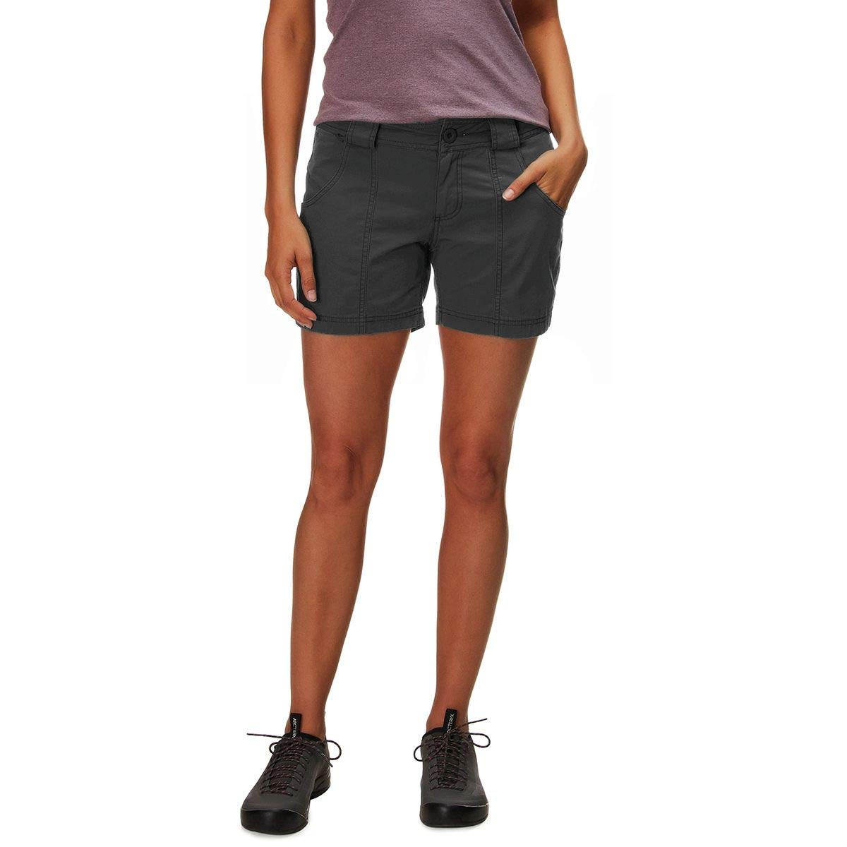 Outdoor Research Women's Wadi Rum Shorts, Charcoal, 12 by Outdoor Research