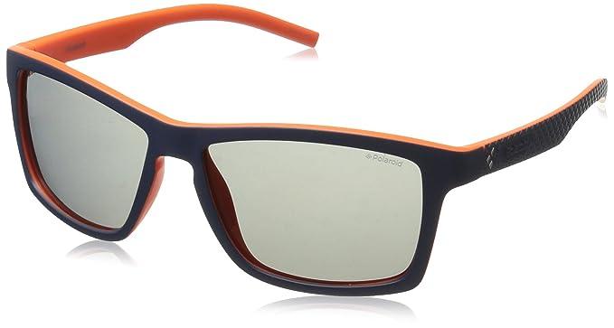 006e82ba21 Amazon.com  Polaroid Sunglasses Pld7009s Square Sunglasses