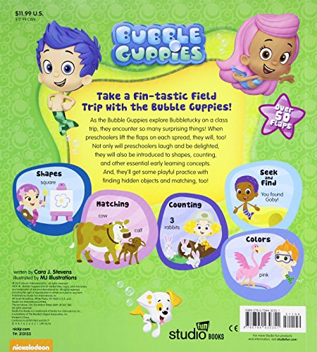 Come Play With Us: Bubble Guppies: Come Play With Us: Lift-the-Flap
